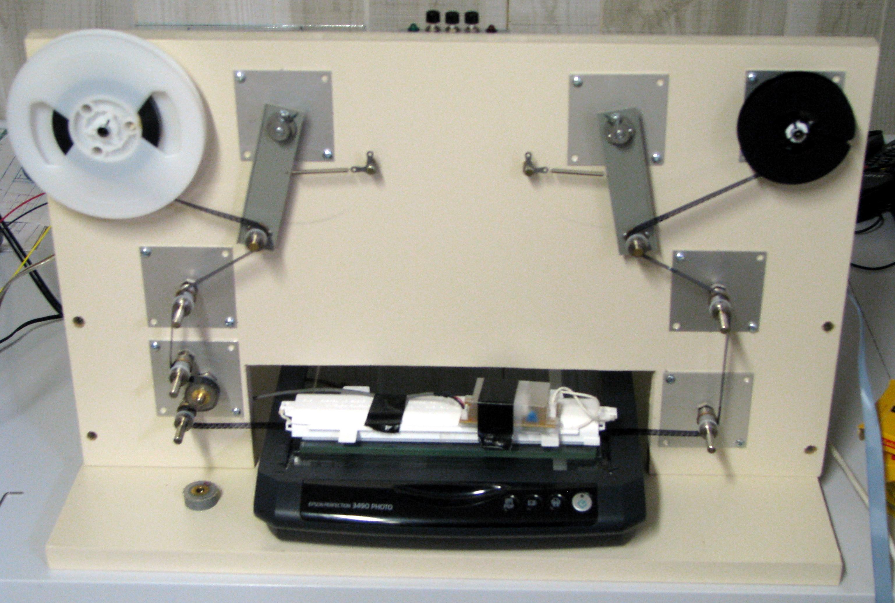 linux based 8mm telecine. Black Bedroom Furniture Sets. Home Design Ideas