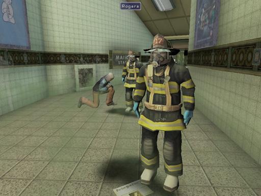 Screen shot from Hazmat Hotzone