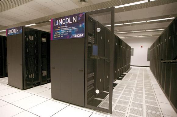 Figure 1: NCSA Lincoln GPU Cluster