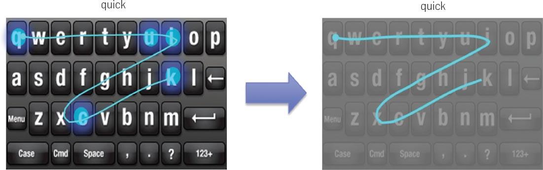 The Word-Gesture Keyboard: Reimagining Keyboard Interaction