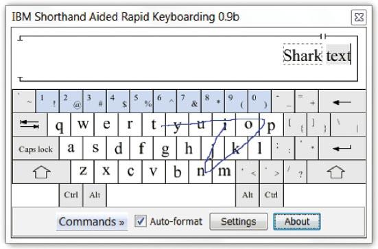 shorthand speed writing average