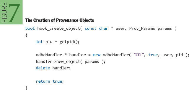 Provenance in Sensor Data Management: The Creation of Provenance Objects