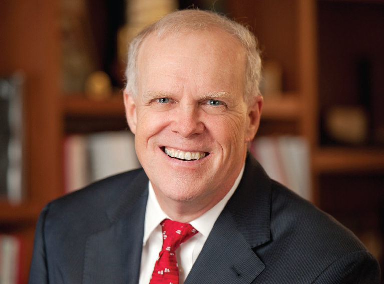 An Interview with Stanford University President John