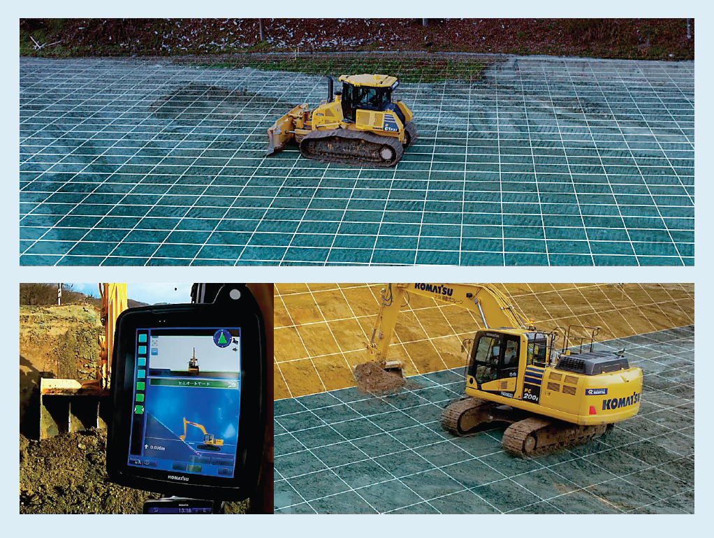 The Next Phase In Digital Revolution Intelligent Tools Circuits Is A Revolutionary Free Tool For Designing Your Electronic Komatsu Excavator Uses Computation To Calculate Correct Angle Of Its Digging Blade