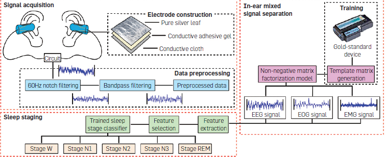 LIBS: A Bioelectrical Sensing System from Human Ears for Staging